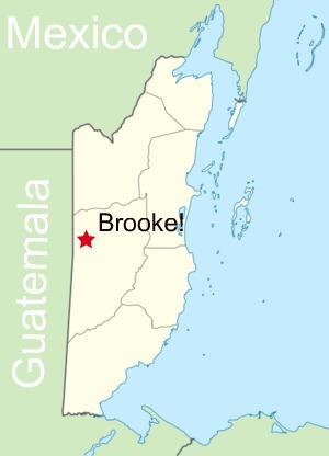 Brooke in BZ map