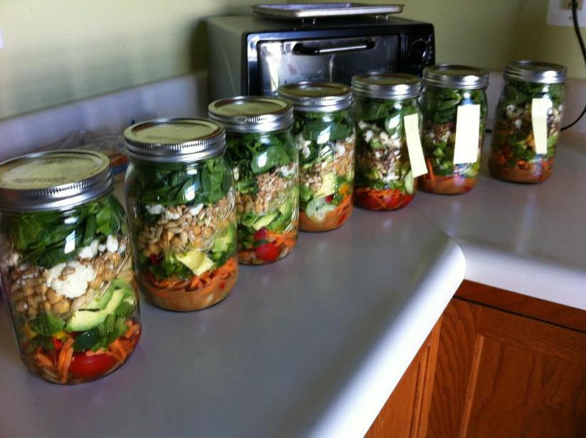 Unrelated: Salads in Jars and Brain-Eating Amoeba
