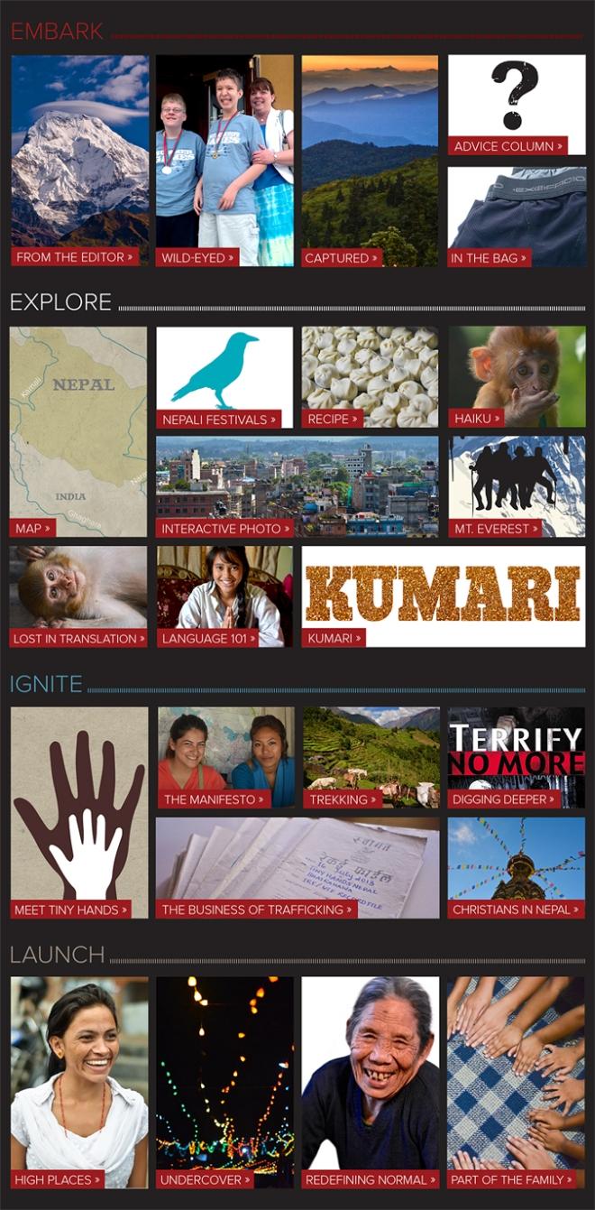 Nepal Web Content